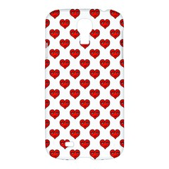 Emoji Heart Shape Drawing Pattern Samsung Galaxy S4 I9500/I9505 Hardshell Case