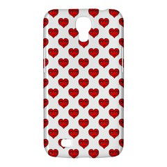 Emoji Heart Shape Drawing Pattern Samsung Galaxy Mega 6.3  I9200 Hardshell Case