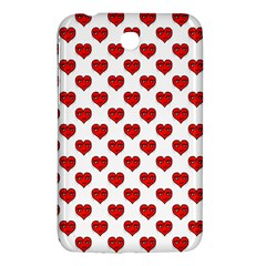 Emoji Heart Shape Drawing Pattern Samsung Galaxy Tab 3 (7 ) P3200 Hardshell Case