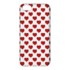 Emoji Heart Shape Drawing Pattern Apple iPhone 5C Hardshell Case
