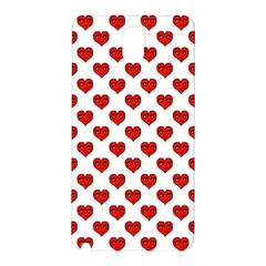Emoji Heart Shape Drawing Pattern Samsung Galaxy Note 3 N9005 Hardshell Back Case