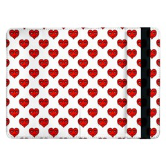 Emoji Heart Shape Drawing Pattern Samsung Galaxy Tab Pro 12.2  Flip Case