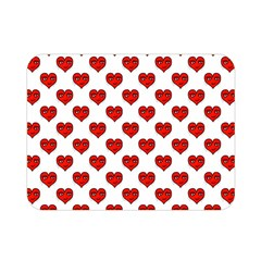 Emoji Heart Shape Drawing Pattern Double Sided Flano Blanket (Mini)