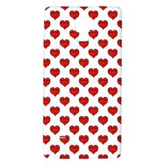 Emoji Heart Shape Drawing Pattern Galaxy Note 4 Back Case
