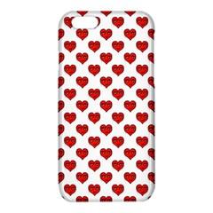 Emoji Heart Shape Drawing Pattern iPhone 6/6S TPU Case