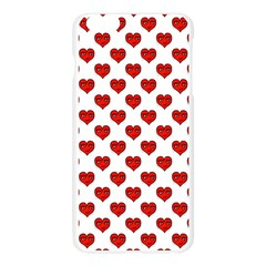 Emoji Heart Shape Drawing Pattern Apple Seamless iPhone 6 Plus/6S Plus Case (Transparent)