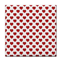 Emoji Heart Character Drawing  Tile Coasters