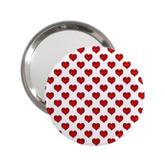 Emoji Heart Character Drawing  2.25  Handbag Mirrors
