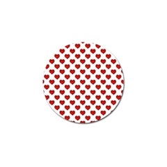 Emoji Heart Character Drawing  Golf Ball Marker (4 pack)
