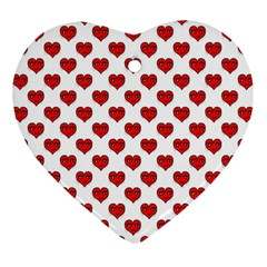 Emoji Heart Character Drawing  Heart Ornament (Two Sides)