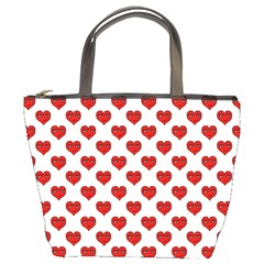 Emoji Heart Character Drawing  Bucket Bags