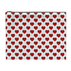 Emoji Heart Character Drawing  Cosmetic Bag (XL)