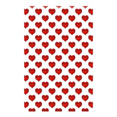 Emoji Heart Character Drawing  Shower Curtain 48  x 72  (Small)