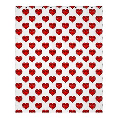 Emoji Heart Character Drawing  Shower Curtain 60  x 72  (Medium)
