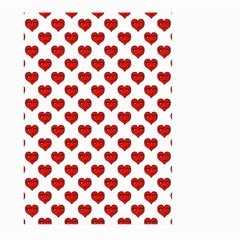 Emoji Heart Character Drawing  Large Garden Flag (Two Sides)