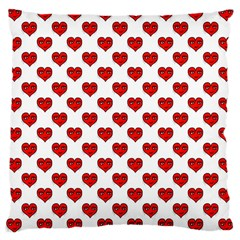 Emoji Heart Character Drawing  Large Cushion Case (Two Sides)