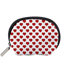 Emoji Heart Character Drawing  Accessory Pouches (Small)
