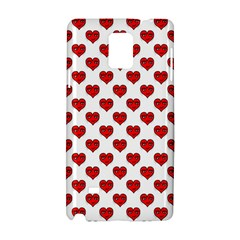 Emoji Heart Character Drawing  Samsung Galaxy Note 4 Hardshell Case
