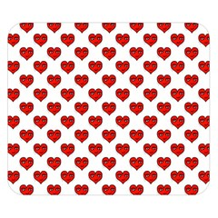 Emoji Heart Character Drawing  Double Sided Flano Blanket (Small)