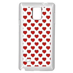 Emoji Heart Character Drawing  Samsung Galaxy Note 4 Case (White)