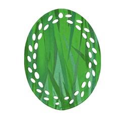 Pattern Ornament (Oval Filigree)