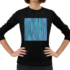 Pattern Women s Long Sleeve Dark T-Shirts