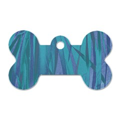 Pattern Dog Tag Bone (Two Sides)
