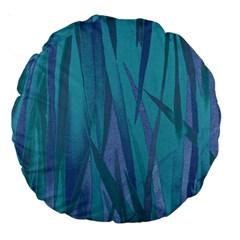 Pattern Large 18  Premium Round Cushions