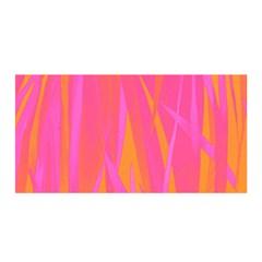 Pattern Satin Wrap