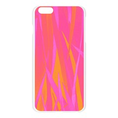 Pattern Apple Seamless iPhone 6 Plus/6S Plus Case (Transparent)