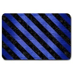 STR3 BK-MRBL BL-BRSH (R) Large Doormat