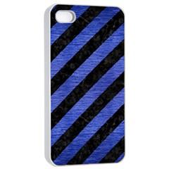 STR3 BK-MRBL BL-BRSH Apple iPhone 4/4s Seamless Case (White)
