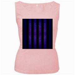 STR1 BK-MRBL BL-BRSH Women s Pink Tank Top
