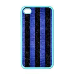 STR1 BK-MRBL BL-BRSH Apple iPhone 4 Case (Color)