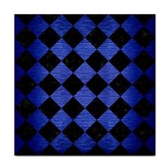 SQR2 BK-MRBL BL-BRSH Tile Coasters