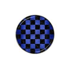 SQR1 BK-MRBL BL-BRSH Hat Clip Ball Marker (4 pack)