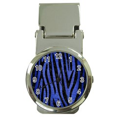 SKN4 BK-MRBL BL-BRSH Money Clip Watches