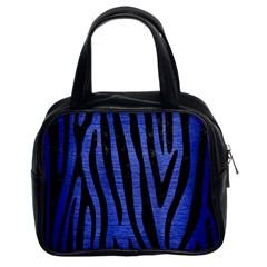 SKN4 BK-MRBL BL-BRSH Classic Handbags (2 Sides)