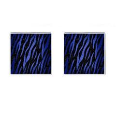 SKN3 BK-MRBL BL-BRSH Cufflinks (Square)