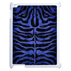 SKN2 BK-MRBL BL-BRSH Apple iPad 2 Case (White)