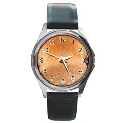 Chow Chow Eyes Round Metal Watch