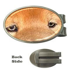 Chow Chow Eyes Money Clips (Oval)