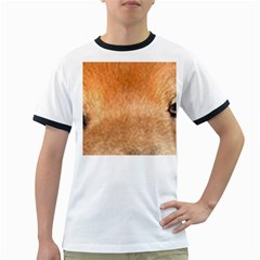 Chow Chow Eyes Ringer T-Shirts