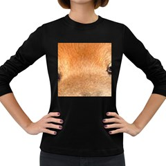 Chow Chow Eyes Women s Long Sleeve Dark T-Shirts