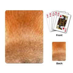 Chow Chow Eyes Playing Card