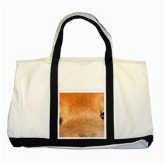 Chow Chow Eyes Two Tone Tote Bag