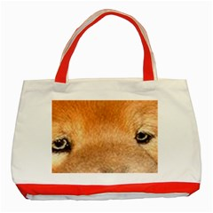 Chow Chow Eyes Classic Tote Bag (Red)