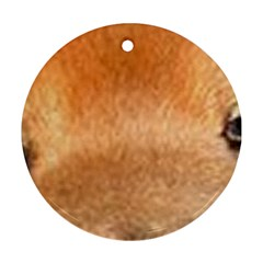 Chow Chow Eyes Round Ornament (Two Sides)