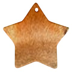 Chow Chow Eyes Star Ornament (Two Sides)