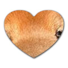 Chow Chow Eyes Heart Mousepads